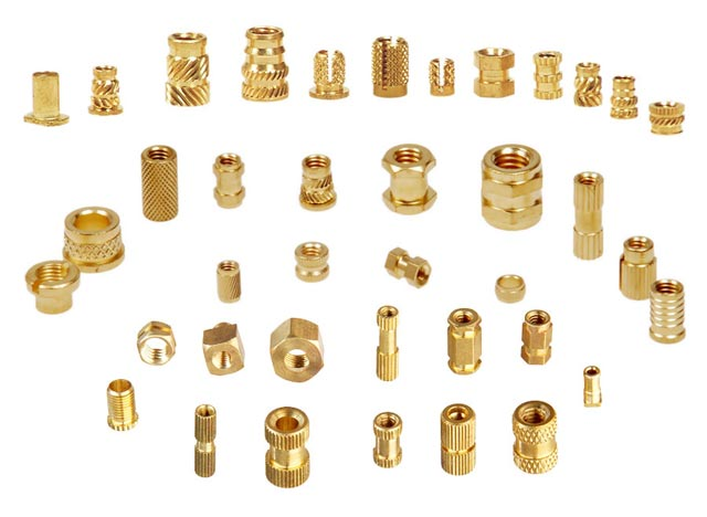 Brass Threaded Molding Inserts | Adarsh Metals